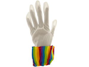 Rainbow Clown Gloves