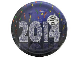 New Year's Bling Plates Set