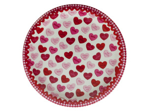 Sweet Greetings Round Plates Set