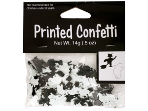 Halloween Witch and Ghost Confetti