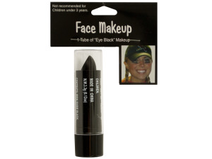 School Spirit Eye Black Face Makeup