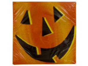 Pumpkin Smile Napkins Set