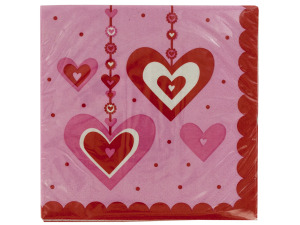 Heart Dazzler Napkins Set