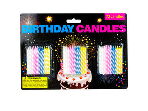 Birthday candle value pack