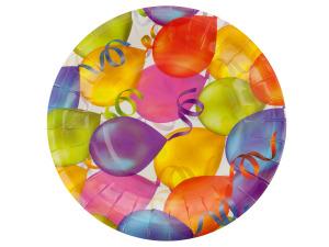 Birthday Balloons Cocktail Plates