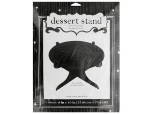 Black Glitz Dessert Stand