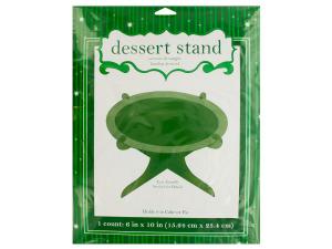 Green Glitz Dessert Stand