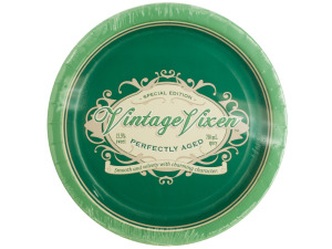 Vintage Vixen Birthday Party Plates
