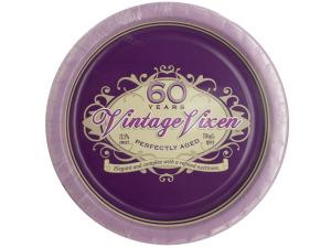 Vintage Vixen 60 Birthday Party Plates