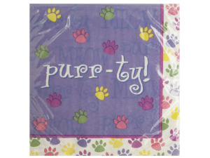 Purr-ty Time Lunch Napkins