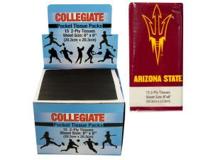 Arizona State Pocket Tissues Countertop Display