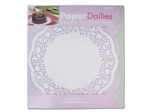 Wholesale: Large white doilies