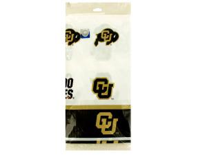 Colorado Buffaloes Plastic Tablecover