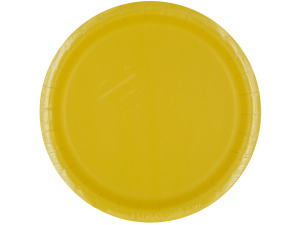 Mimosa Yellow Party Plates
