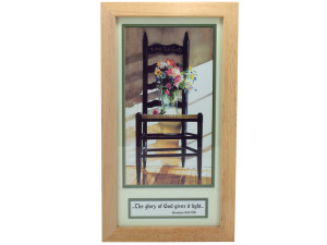 Christian Scripture Framed Art Decor