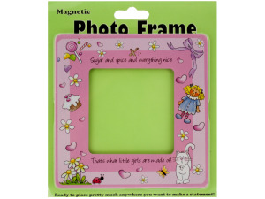 Little Girls Magnetic Photo Frame