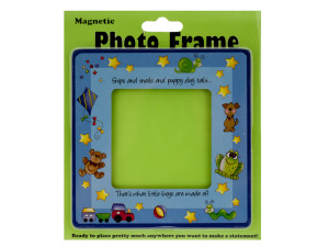 Little Boys Magnetic Photo Frame