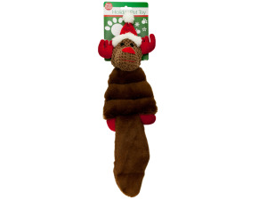 Holiday Crinkle Plush Pet Toy
