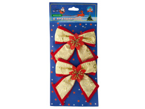 Christmas Bow Decorations