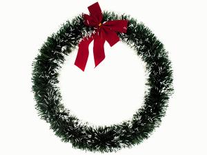 Frosty Christmas Wreath Decoration
