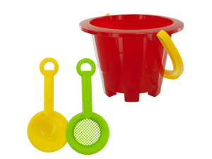 3 piece beach pail set