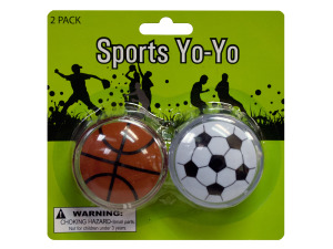 Sports Yo-Yo Set