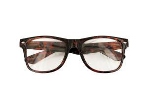 Clear Lens Tortoise Shell Glasses