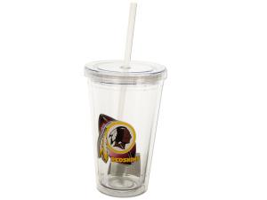 Washington Redskins Travel Tumbler with Straw