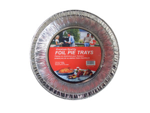 Foil pie trays, pack of 4