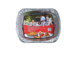 Foil roasting pan, large size