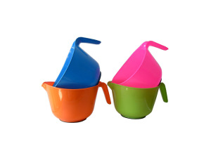 Colorful water ladle, assorted