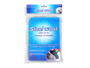 Steel wool, pack of 12