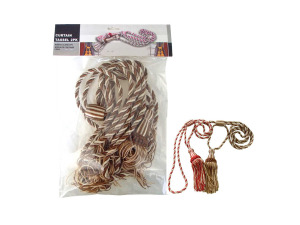 Wholesale: Curtain tassle, pack of 2