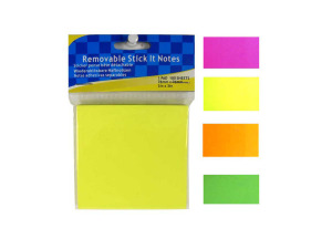 Removable colorful sticky notes, 100 sheets