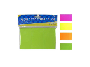 Sticky notes, set of 3 colorful pads