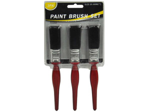 Paint brush set, 3 pack