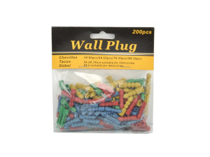 Wall anchors, pack of 200