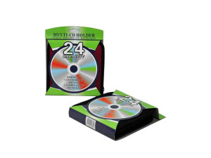 CD holder for 24 discs