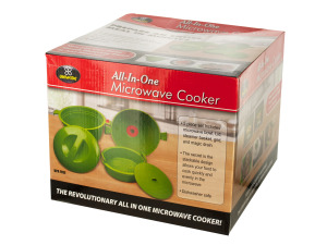 All-In-One Microwave Cooker Set