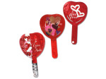 50 pack of 4-inch mylar love and heart balloons