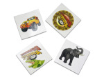 Exploration jungle temporary tattoos, pack of 70