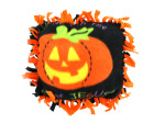 Fleece Christian Pumpkin Tied Pillow Craft Kit