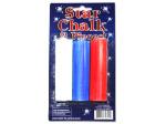 Patriotic Star-Shaped Chalk
