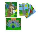 6 Fabulous Foam Zoo Mosaic Art Pictures