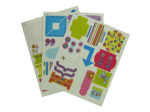 62 Color Me Spring Cardstock Stickers