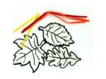 Vellum Leaf Light Catchers