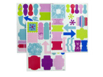 Winter Wonderland Cardstock Sticker Accessories
