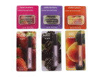 assorted lip balm and lip gloss