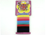 Colored hair bands