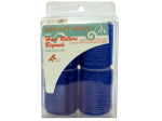Jumbo velcro hair rollers, assorted colors